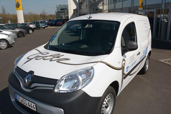 Fahrzeugbeschriftung für Hanf- und Drahtseilerei Goltz Görlitz