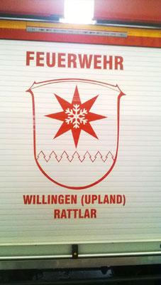 Fahrzeugbeschriftung für Feuerwehr Willingen (Upland) Rattlar