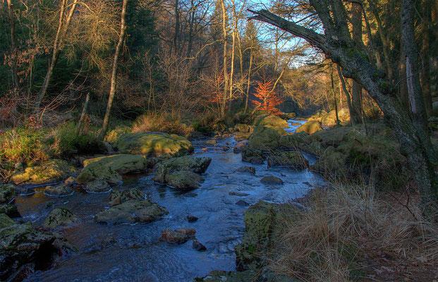 La Höegne - River Hoegne.