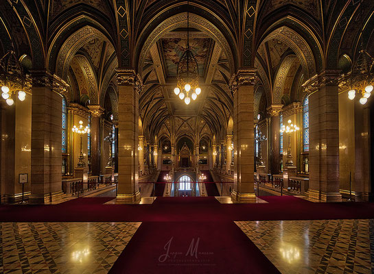 Parlement interieur - Parliament interior.