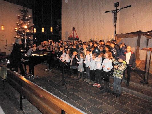 """19.12.2013 in der St. Petri-Kirche """"NULL BOCK AUF WEIHNACHTEN"""""""