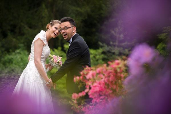 Brautpaarshooting Zivilhochzeit