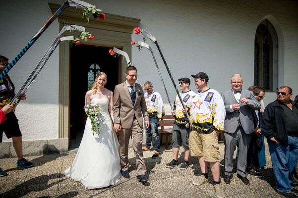 Hochzeit Kirche Wahlern, Schwarzenburg