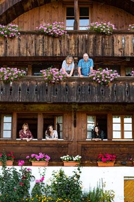 Familienfotoshooting in der Region Gantrisch