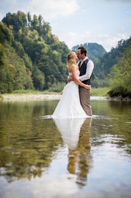 Brautpaarshooting in der Region Gantrisch