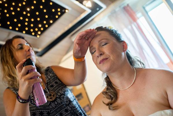Getting ready, Coiffeur Haarmonie, Cossu Sabine Lurtigen