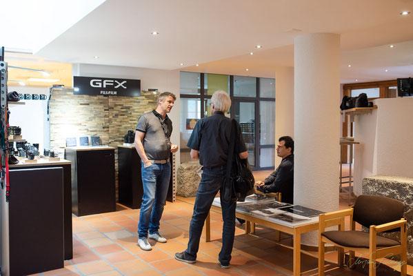Beratung und Austausch bei Fujifilm Schweiz