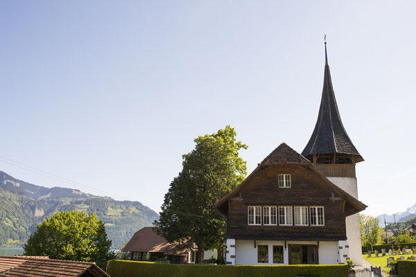Hochzeit Thunersee, Kirche Leissigen