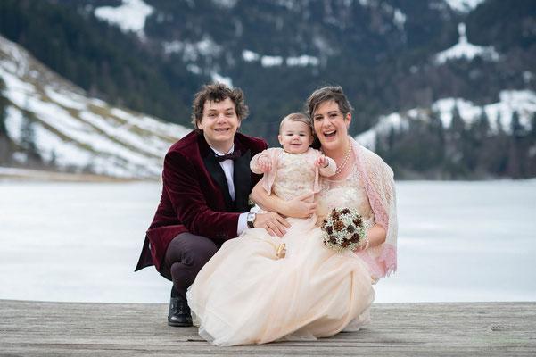 Hochzeit am Schwarzsee