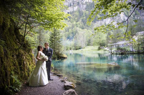 Hochzeit Blausee
