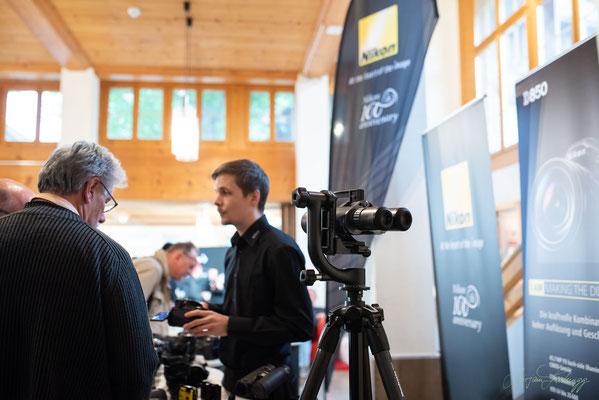 Beratung bei Nikon Schweiz