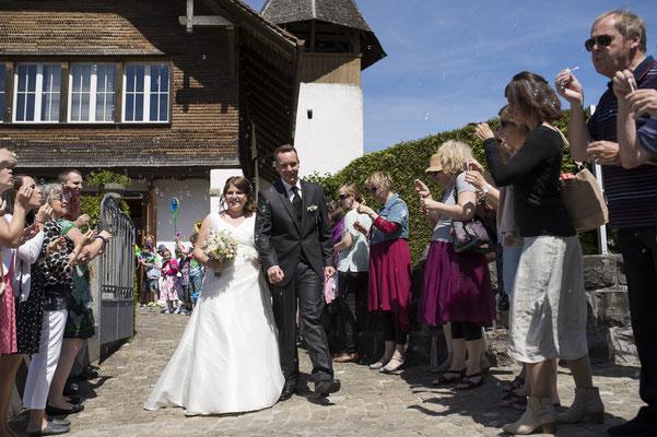Hochzeit Kirche Leissigen, Thunersee