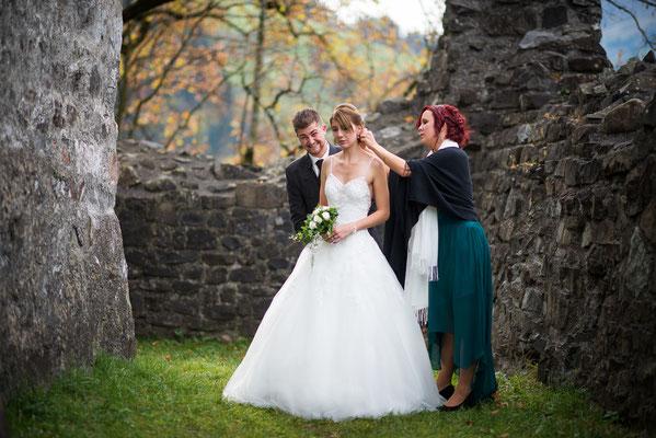 Brautpaarshooting Tellenburg, Frutigen