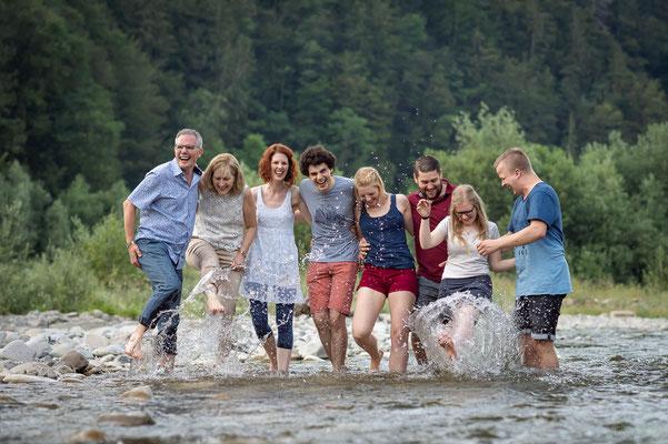 Familienshooting Region Gantrisch