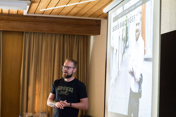Vortrag mit Boris Baldinger
