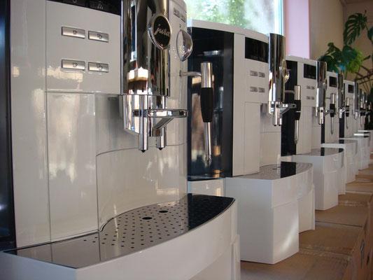 Spezialanfertigung für das Sauber F1 Team, Kaffee braucht es auch an der Rennstrecke