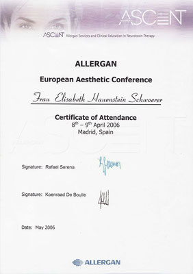 ALLERGAN - European Aesthetic Conference