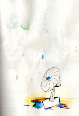 Ventilatorenwind, Gelsen können nicht fliegen