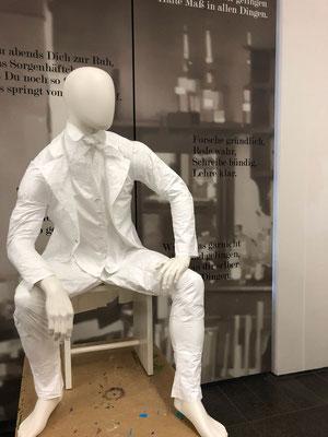 Historischer Anzug für Tyweg, im Auftrag von Ulrike Nägele gefertigt
