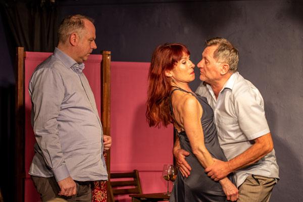 Illusionen einer Ehe , Tourneetheater Stuttgart,    Foto: helmut Bär