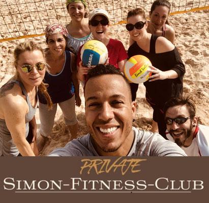 Simon Fitness Beach Volleyball