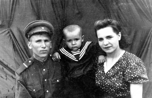 Колодяжный Владимир Павлович с женой Колодяжной Александрой Васильевной
