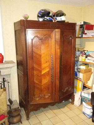 restauration armoire ebeniste menuisier Morbihan Vannes Elven