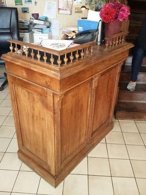 restauration comptoir ebeniste menuisier Morbihan Vannes Elven