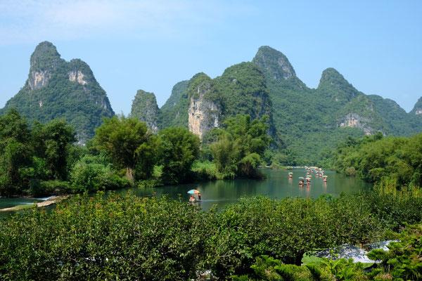 Yangshuo - Karstberge