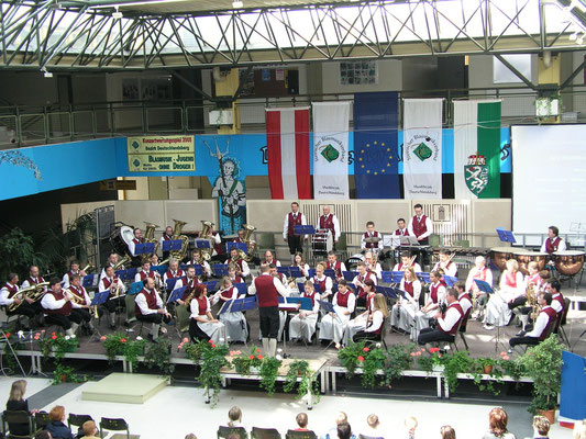 Konzertwertung 2005 mit ausgezeinetem Erfolg in Stufe C