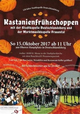 Kastanienfrühschoppen Dlbg. 15.10.2017