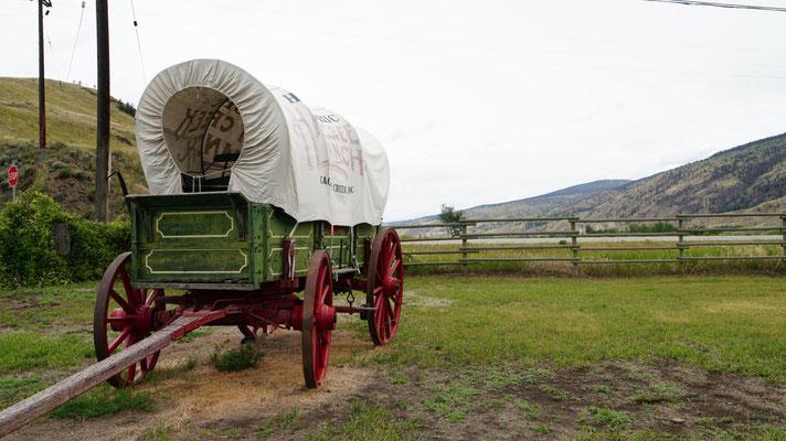 Wild-West Kutsche auf einer historischen Ranch