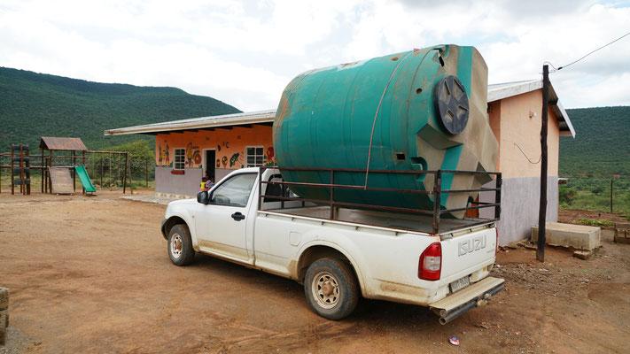 Wassertank für Vorschule in Muden