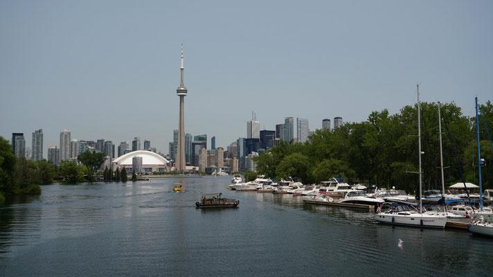 Skyline von den Toronto Islands