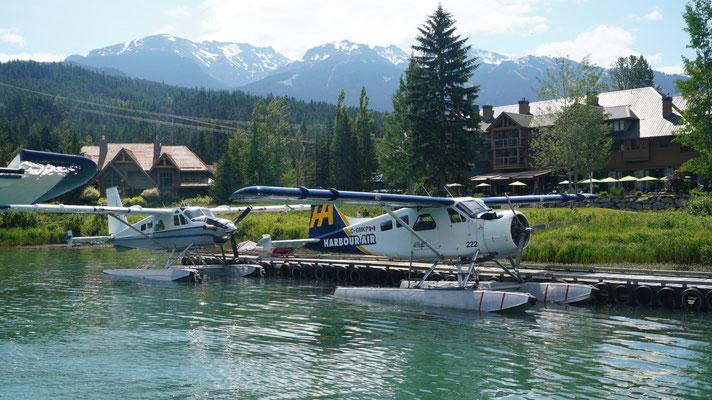 Wasserflugzeuge in Whistler