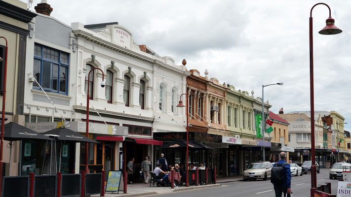 Launceston with a nice old city center
