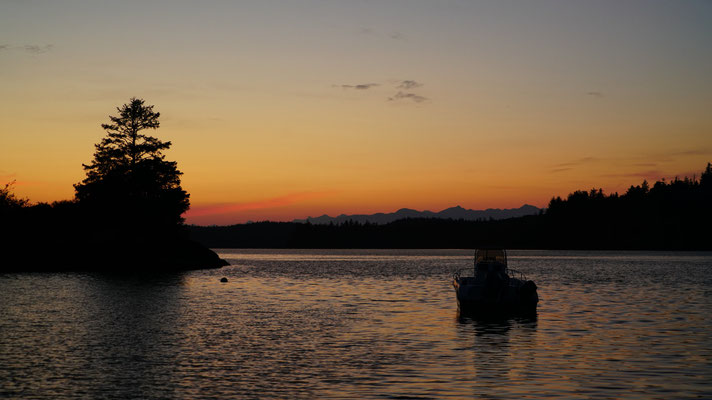 Sonnenuntergang am Pacific Rim