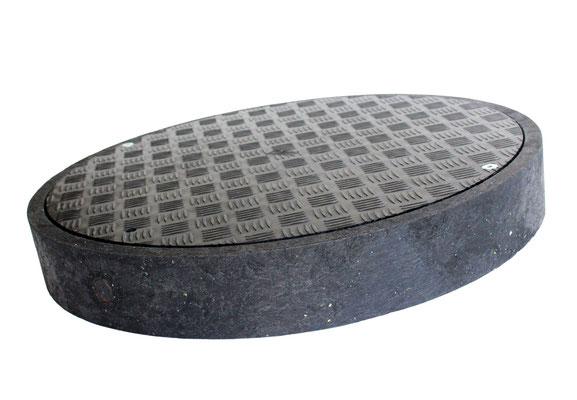 Leichte Montage und Handhabung garantiert: Die KHK-Abdeckung mit einer Nennweite von 620 Millimetern wiegt lediglich 9,3 Kilogramm.