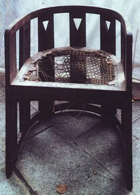 Stuhl im Vorzustand | Foto: A. Fehse