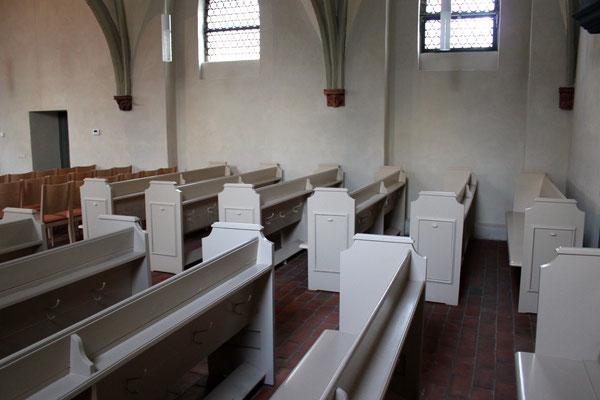 Zustand nach der Fertigstellung in der Dorfkirche Alt-Stralau in Berlin | Foto: A. Fehse, 2014