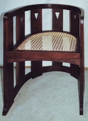 Stuhl nach der Restaurierung | Foto: A. Fehse