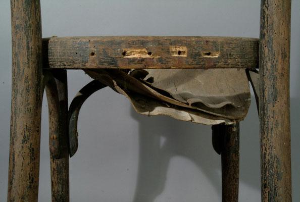 Thonet Stuhl im Vorzustand | Foto: A. Fehse