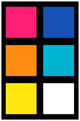 Sarah Esslinger-Dahlmann, Farbkombination: Der Raum zwischen Licht und Dunkelheit (color combination: the space between light and darkness)