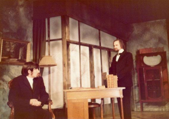 """links: Albert Scherrer als """"Christian"""", rechts: Erwin Freitag als """"Elis"""""""