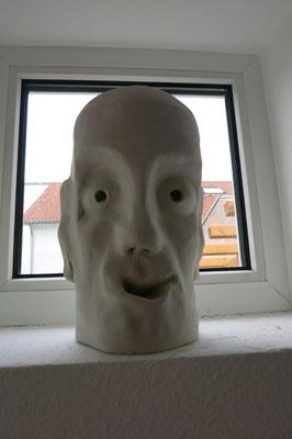 Titel: Doppelgesicht, Maße: 26 cm, Jahr: 2006