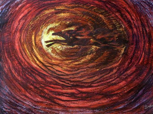 Titel: Freiheit, Maße: 48x36 cm, Jahr: 2000