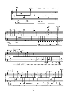 from Bagatella Iponeologica - for piano