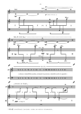 from Transiponeologica - for alto flute and piano