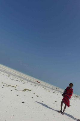 Maasai (viele kommen von ihrer Heimat Arusha nach Sansibar, um dort Souvenirs an die unzähligen Touris zu verkaufen...)