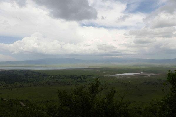 Ngorongoro-Krater im Morgenlicht 1